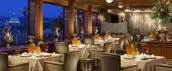 rome 10 best haut cuisine restaurant la pergola rome cavalieri heinz beck
