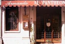 rome 10 best roman trattoria restaurant Armando al Pantheon
